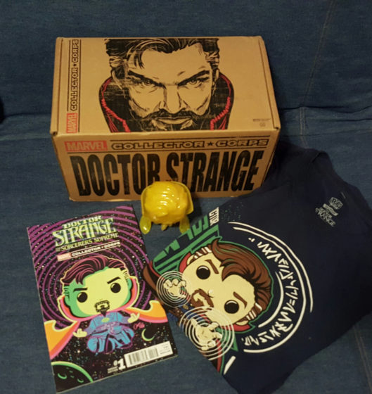 Marvel Collector Corps Doctor Strange Box Giveaway