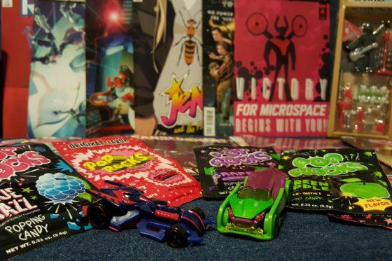 Hot Wheels, Comics and Pop Rocks