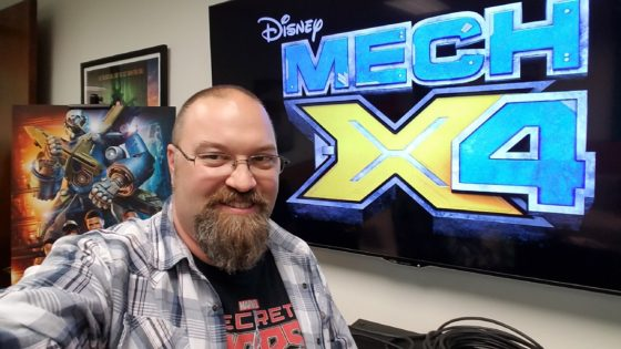 At the MECH-X4 Event