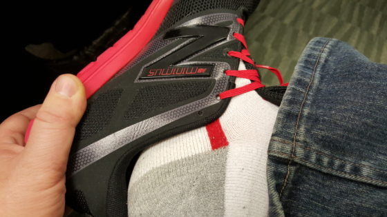 Stretch Laces and Work Shoes