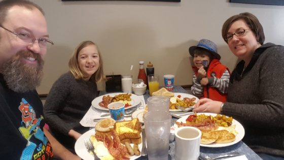 Breakfast at Morins