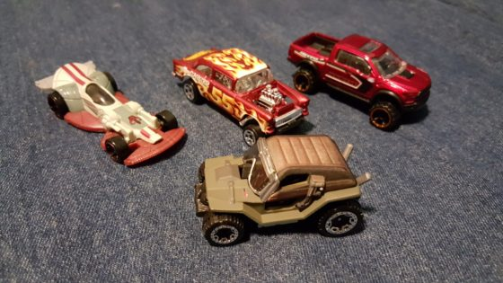 Hot Wheels Carships