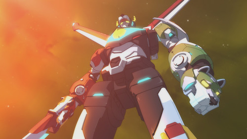 Voltron Standing