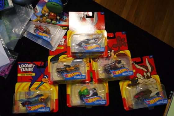 Looney Toons Character Cars