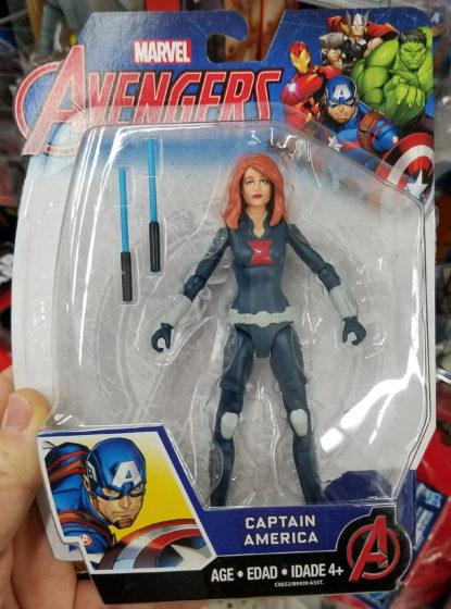 Captain Americ... uh... Black Widow