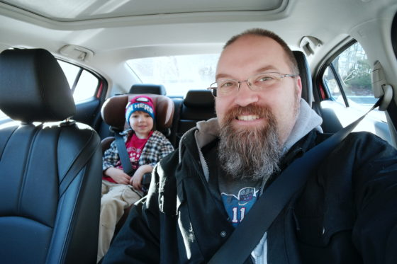 Fun with Andrew in the Mazda