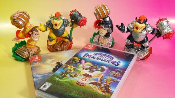 4 Skylanders Toys Pulling Double Duty on the Nintendo Switch