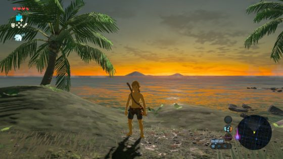 Sunrise in Hyrule