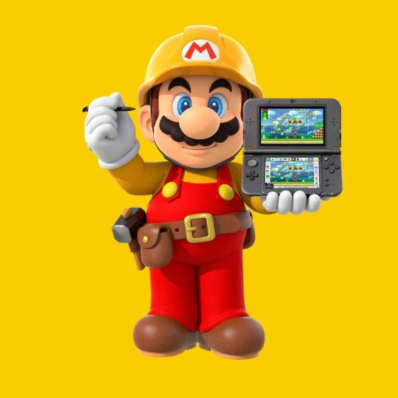 Super Mario Maker for Nintendo 3DS art
