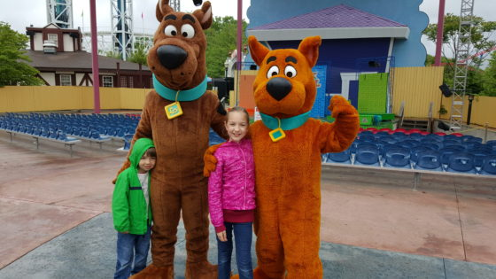 The Kids with Scooby and Scrappy Doo