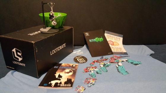 Loot Crate June 2017 Alter Ego