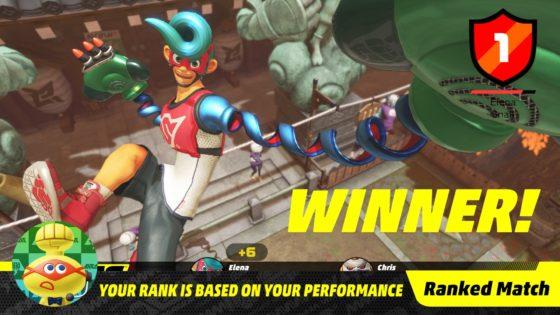ARMS Screenshot Winner