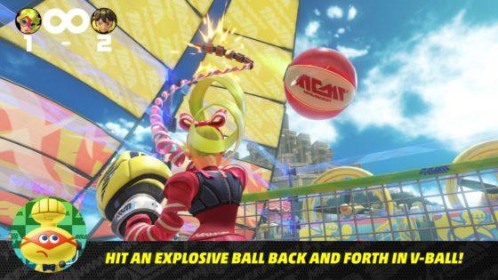 ARMS Screenshot Volleyball