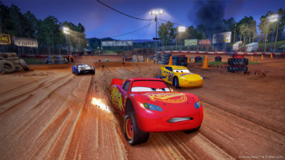 Cars 3 Race Lightning