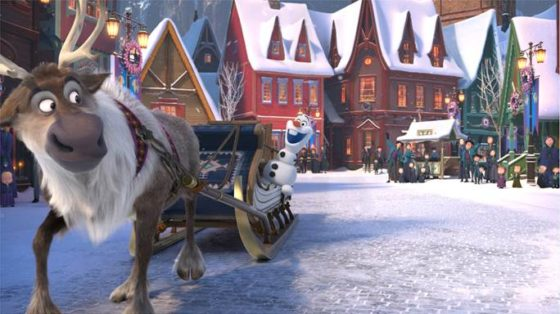 Frozen Olafs Adventure
