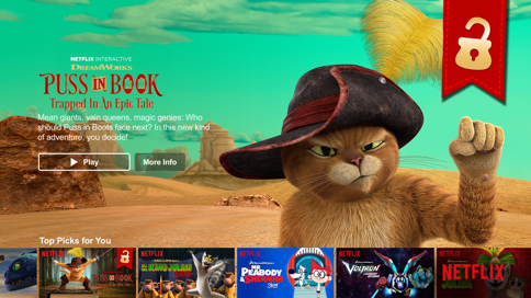 Puss in Book on Netflix