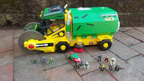 TMNT Micro Mutants Sweeper Ops