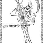 Coco Ernesto Coloring Page