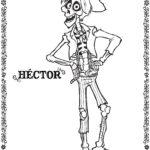 Coco Hector Coloring Page