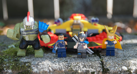 Lego Thor and Friends