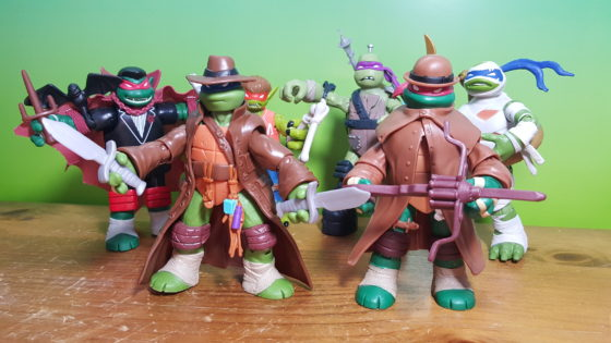 Teenage Mutant Ninja Turtles Monsters N Mutants
