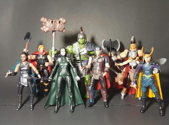 Marvel Legends Build-A-Figure Thor Ragnarok Figures