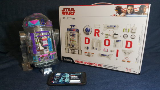 droid inventor kit built