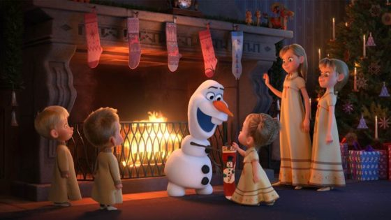 Olaf Looking for Traditions