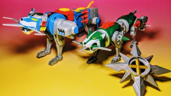Classic Voltron Lions