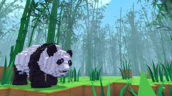 Panda on PixARK