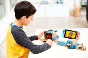 Nintendo LABO fishing rod