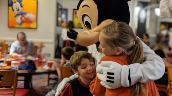 Time with Mickey at Chef Mickeys