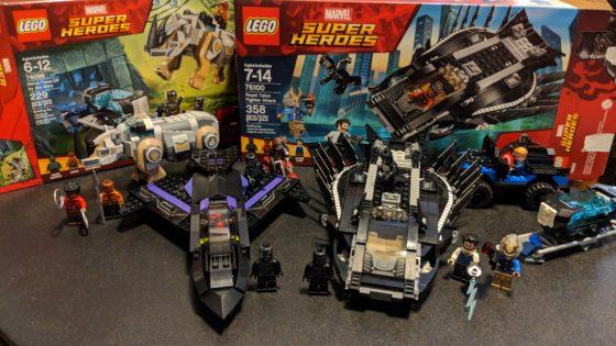 Black Panther LEGO Sets