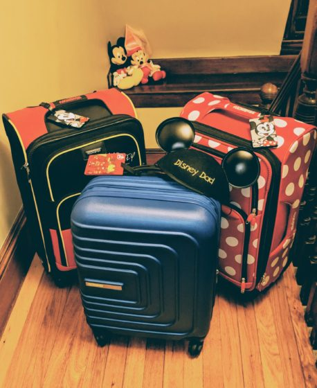 Disney Bags are Packed