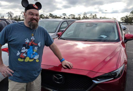 Taking the Mazda CX-5 to Disney