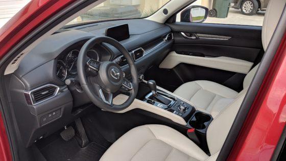 The Mazda CX-5 Grand Touring Interior