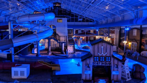 Water Park at Night