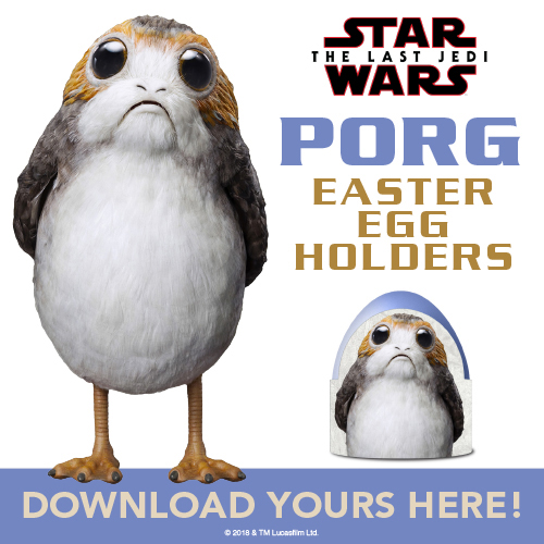 Porg Easter Egg Holders