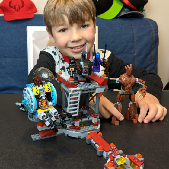LEGO Time with Andrew - Guardians of the Galaxy