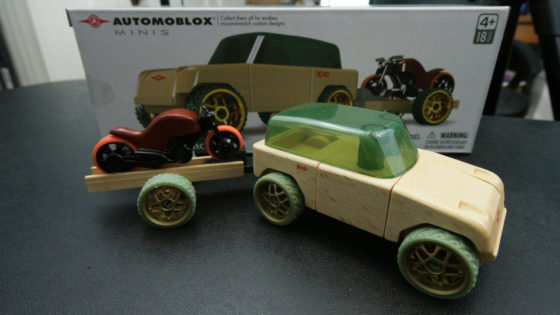 Automoblox Timber and Motorcycle