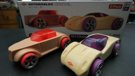 Automoblox Minis Scorch and Chaos
