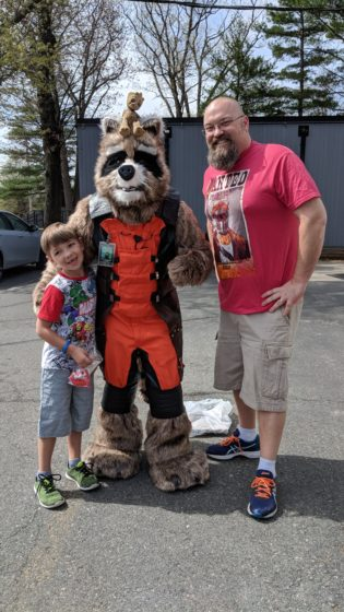 Free Comic Book Day with Rocket and Groot