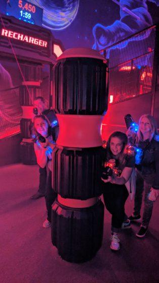 More Lasertron action at XtremeCraze