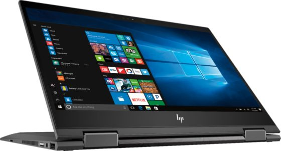 HP Envy x360 Laptops at Best Buy - Convert to Tablet Mode