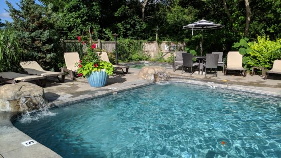 The Pool at the Daniel Webster Inn