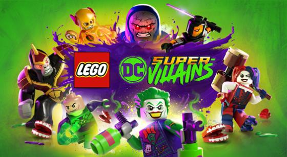 LEGO DC Super Villains Logo