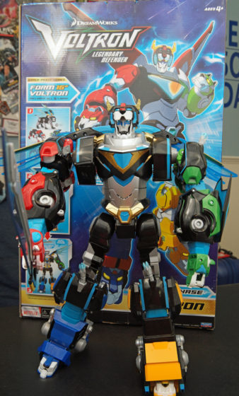 The SDCC Previews Exclusive Hyper Phase Voltron!