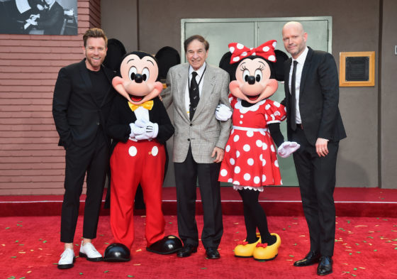 Ewan McGregor - Minnie Mouse - Mickey Mouse - Richard M. Sherman - Marc Forster World Premiere Of Disney Christopher Robin