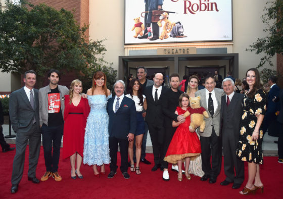 World Premiere Of Disneys Christopher Robin