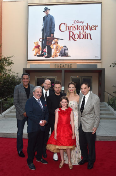 "Brad Garrett - Jim Cummings - Marc Forster - Ewan McGregor - Bronte Carmichael - Hayley Atwell - Richard M. Sherman - World Premiere Of Disney's ""Christopher Robin"""